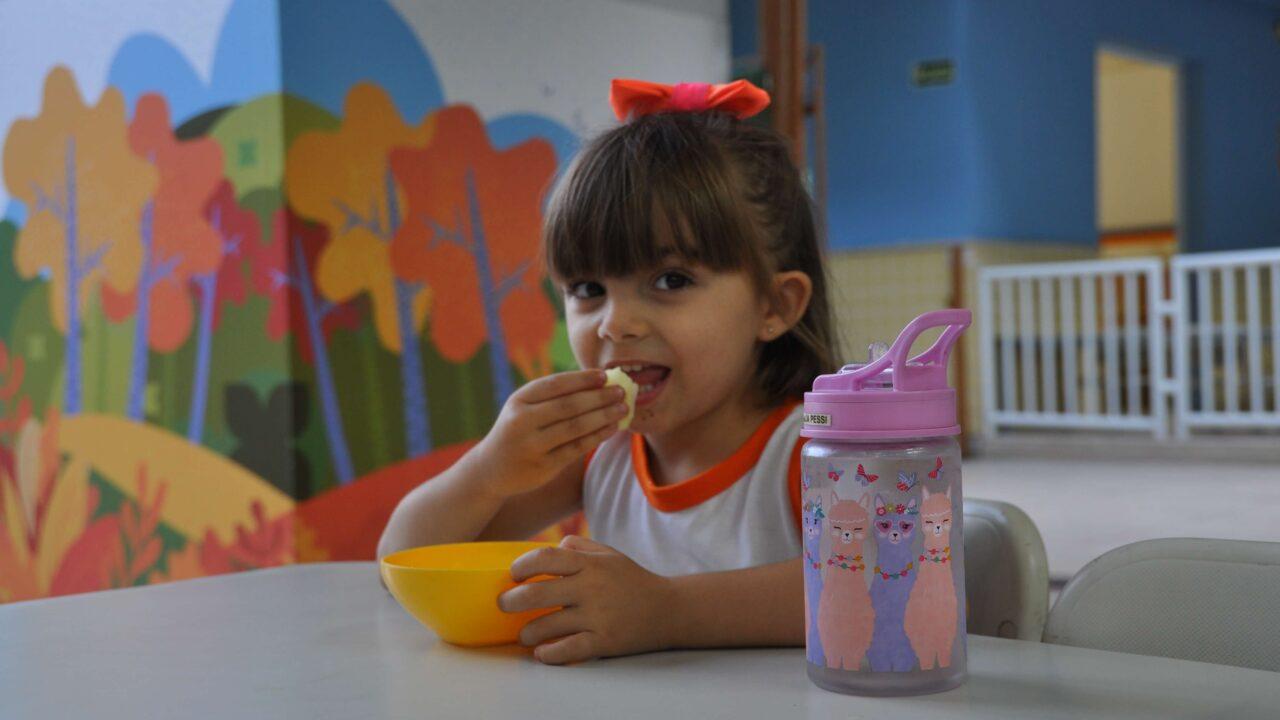 Nutricionista capixaba comenta a importância da alimentação na escola